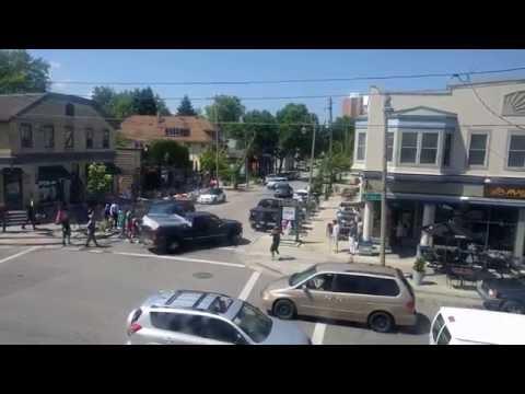 Road rage on Brady Street