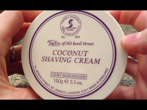 Taylor of Old Bond Street Shaving Cream - Lather Review
