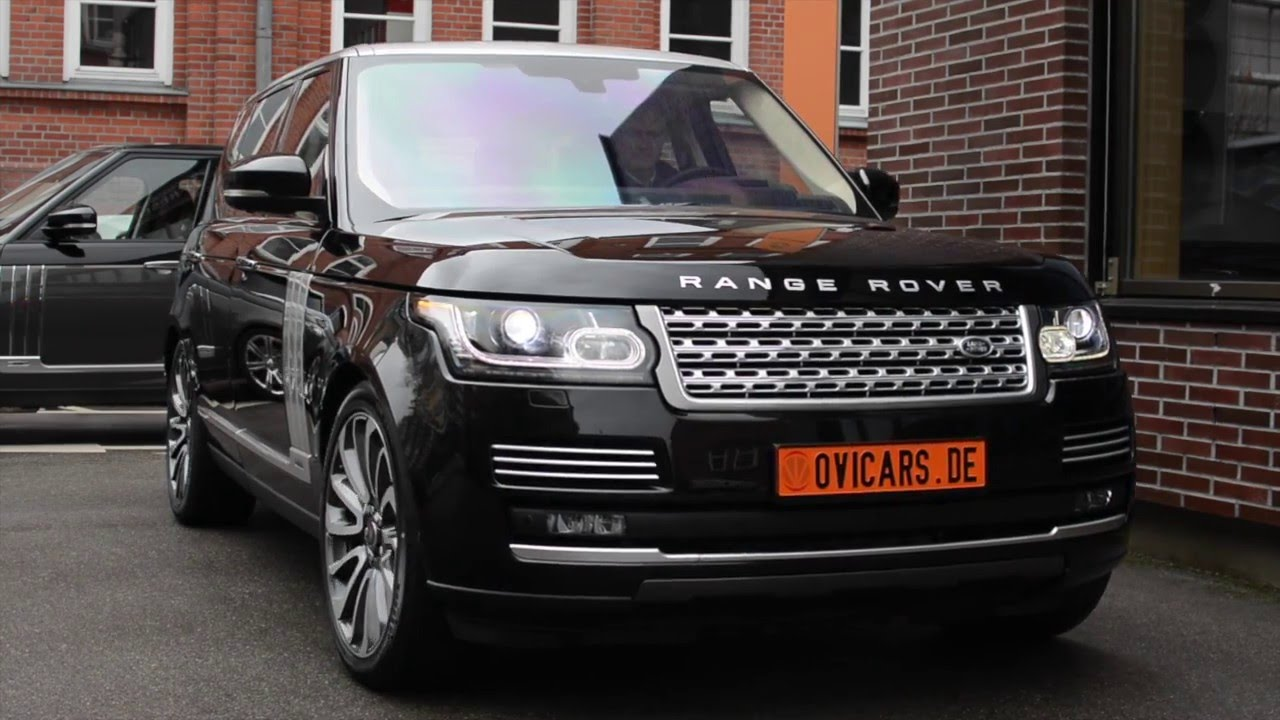 Range Rover 3 0 Sdv6 Hybrid Autobiography Santorini Black Tan In Stock You