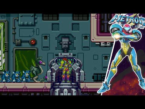 Metroid Fusion Gameplay Español 100% Parte 5: ¡Emergencia en el Sector 3!