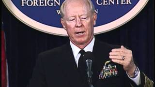 """Admiral Robert Willard Delivers Remarks on """"Asia-Pacific U.S. Military Overview"""""""