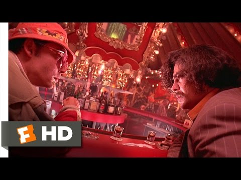 Fear and Loathing in Las Vegas 510 Movie CLIP  Getting The Fear 1998 HD