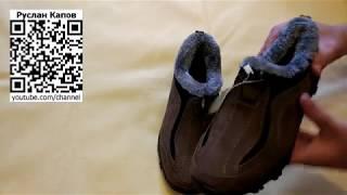 Зимние ботинки Vancat. Посылка из китая.