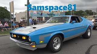 1971 Ford Mustang BOSS 351 Woodward Avenue Detroit Motor City Samspace81 capture Xtra healthy sound