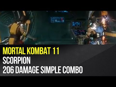 mortal kombat 11 scorpion combos nintendo switch