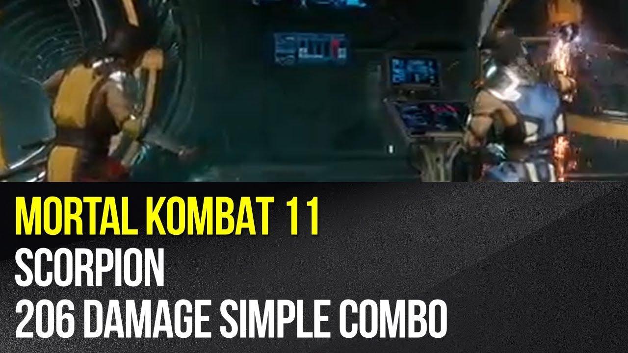 Scorpion Guide Mortal Kombat 11 Combos Mortal Kombat 11 Guide And Tips Gamepressure Com