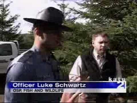 Polluting creek osp fish game warden oregon state police for Oregon game and fish