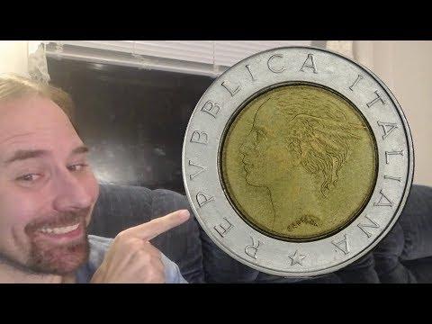 Italy 500 Lire 1991 R Coin