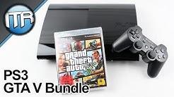 Unboxing: Playstation 3 Super Slim - GTA V Bundle & WARUM?! [HD] - Deutsch/German