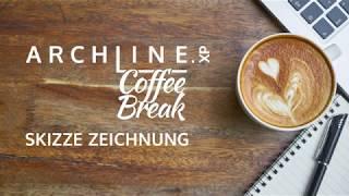 ARCHLine.XP - Die CAD + BIM Software Coffe Break Skizze Zeichnung