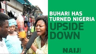 Nigeria is upside down