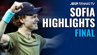 Jannik Sinner vs Vasek Pospisil | Sofia 2020 Final Highlights