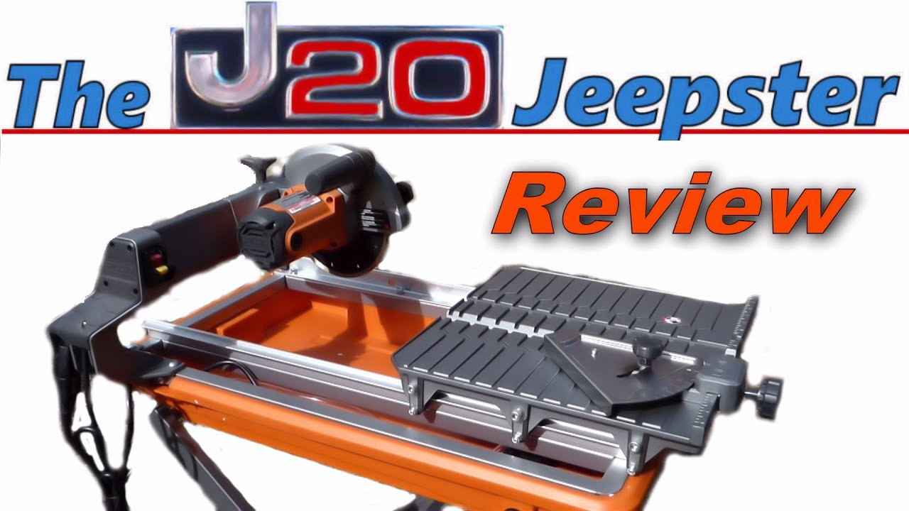 ridgid r3040 7 tile saw review unboxing and assembly