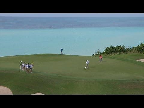 2013 PGA Grand Slam of Golf: Jason Dufner birdie on Hole 8