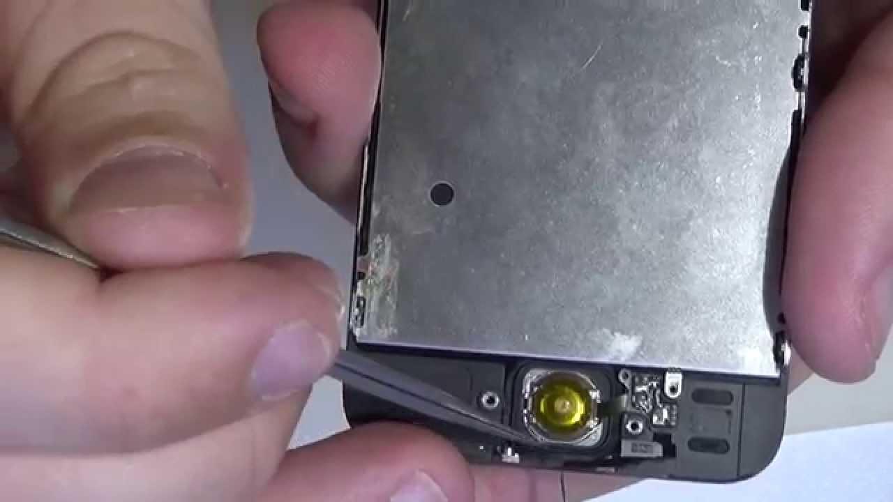 ремонт кнопки home айфон 5s замена кнопки home iphone 5s