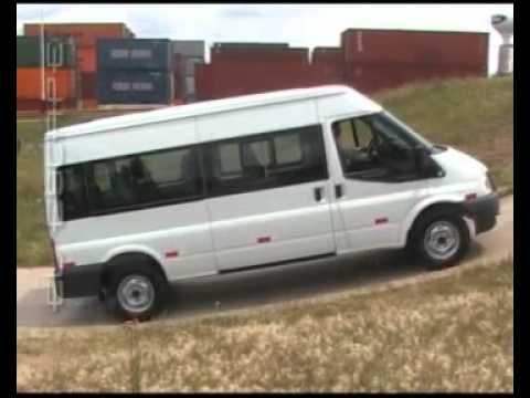 ford transit motor 2 4 turbo diesel youtube. Black Bedroom Furniture Sets. Home Design Ideas