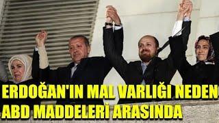 Erdoğan'ın mal varlığı neden ABD maddeleri arasında? Çarpıcı açıklamalar
