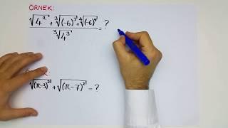 Köklü Sayılar-1: Temel Kavramlar