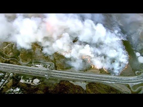 breaking-news!-fire-near-getty-center-closes-down-405-freeway