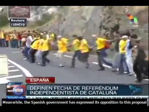 Catalonia sets date for independence referendum