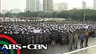 TV Patrol: Libo-libong security personnel sa ASEAN Summit, dumalo sa send-off