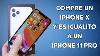 iPhone X en un iPhone 11 Pro lo IMPOSIBLE ES POSIBLE