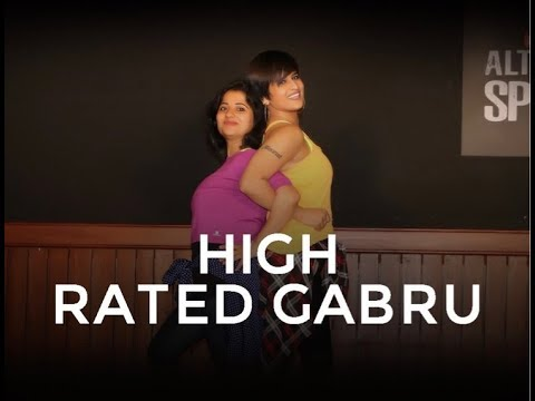 High Rated Gabru (Nawabzaade)  | Dance Fitness Choreography By Vijaya Tupurani | Guru Randhawa