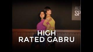 High Rated Gabru (Nawabzaade)    Dance Fitness Choreography by Vijaya Tupurani   Guru Randhawa