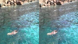 3D yt3d Stereoscopic Mallorca Bay Majorka Sea Meer