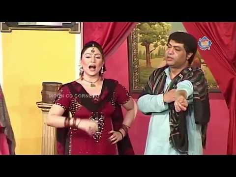 New Pakistani Stage Drama Full Comedy Clip - Sajan Abbas And Khushboo