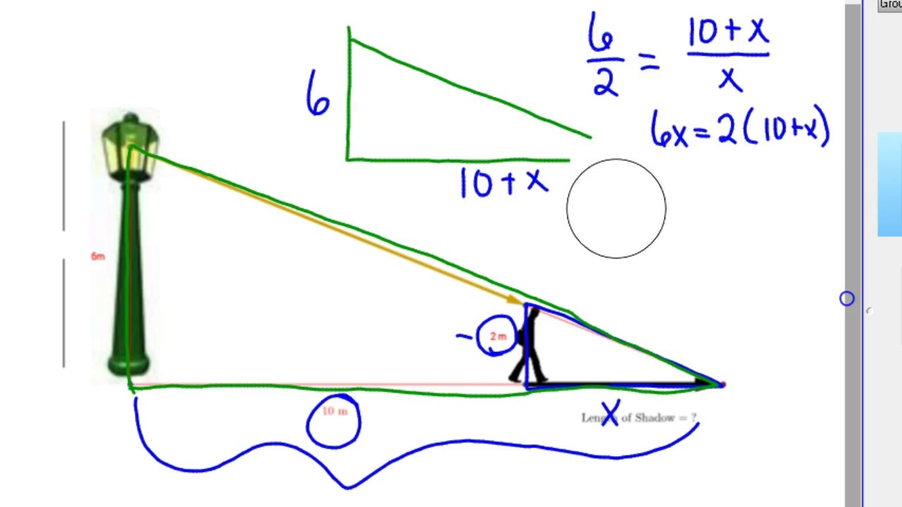 how to find the missing measurement of a triangle