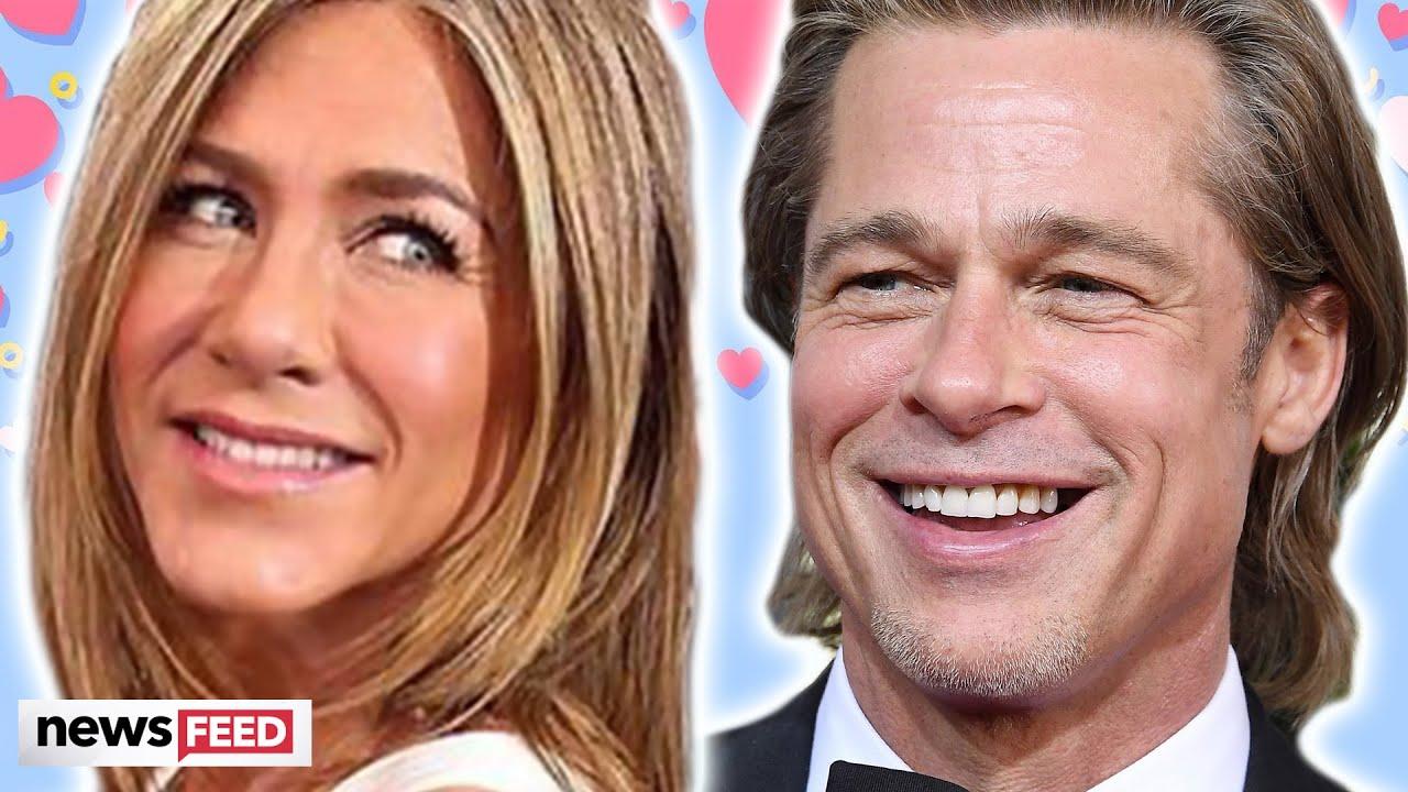 Brad Pitt & Jennifer Aniston CUTEST Moments Post Reconciliation!