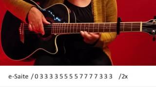 Wir sind groß - Mark Forster / Guitar/Cover/Tutorial/Chords easy/Lyrics