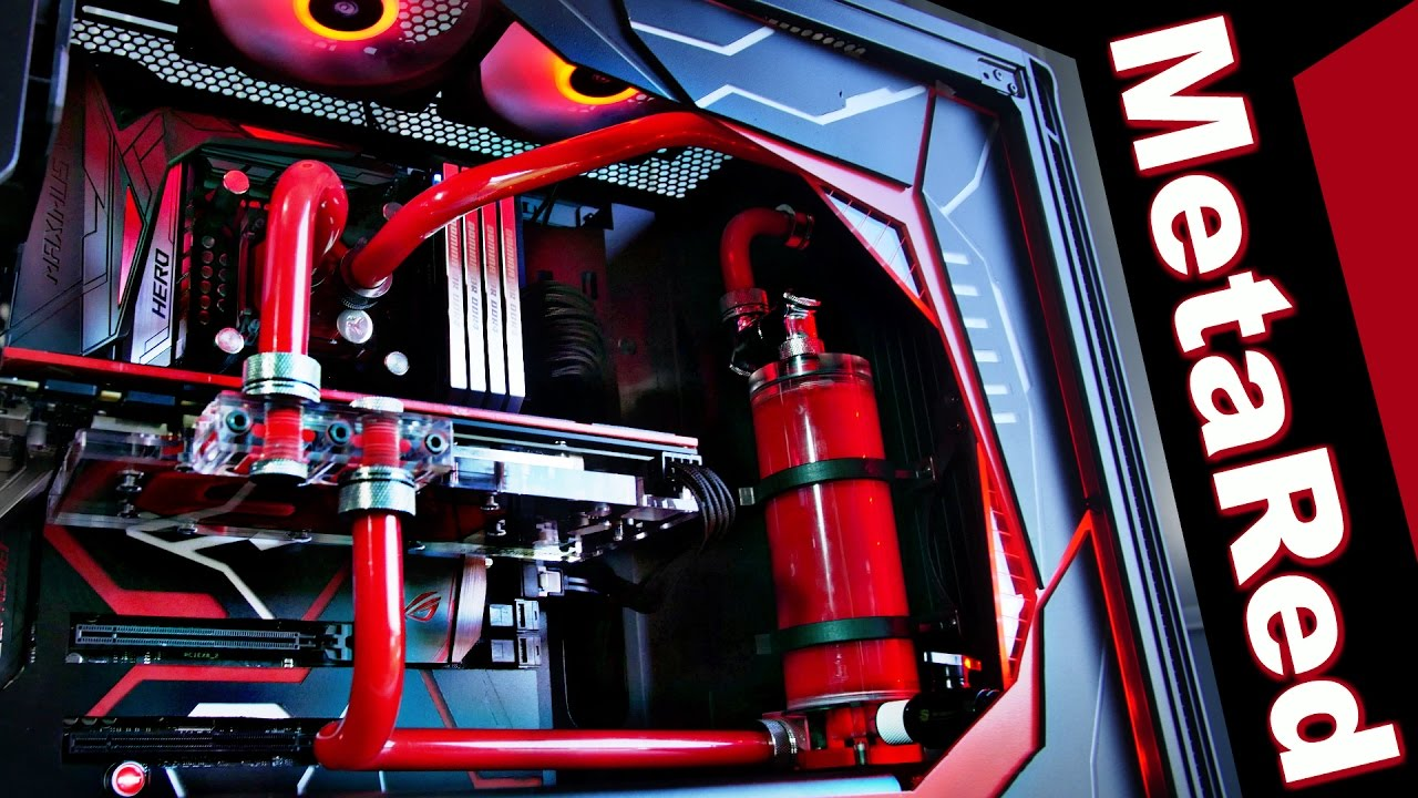 Project Metared Time Lapse Ultimate Custom Water Cooled Pc Case