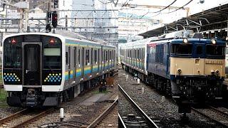 2020/07/21 【新津配給】 E131系 R01+R02編成 大宮駅 | JR East: Delivery of E131 Series R01+R02 Set at Omiya