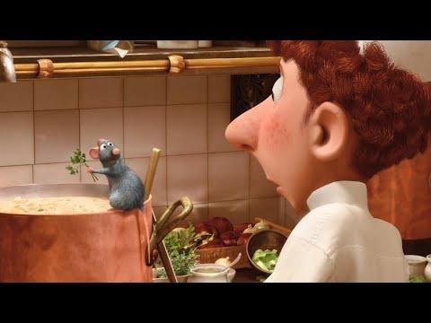 Ricetta Zuppa Ratatouille.Ratatouille 2007 Remy Cucina La Zuppa Full Hd Ita Youtube