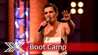 Antonia Mirat wants a little Respect | Boot Camp | The X Factor UK 2016