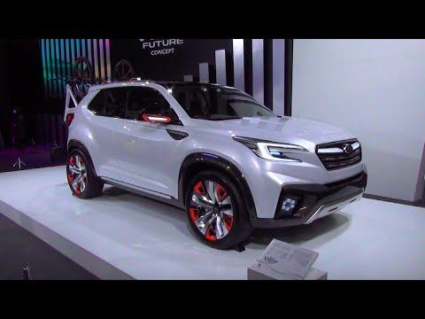 Subaru Viziv Future Concept Exterior Interior Sapporo Motor