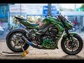 Kawasaki Z1000 Exhaust sound compliation