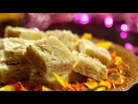 by ethnico-Badam Burfi Recipe | Diwali Special - n Sweet Recipe | Ruchi