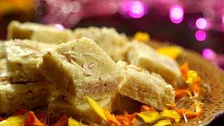 Badam Burfi Recipe | Diwali Special - Indian Sweet Recipe | Ruchi's Kitchen