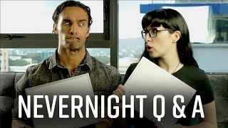 Nevernight Cast Q & A ❓