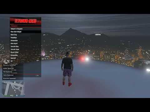 GTA V Online - Mod Menu Oculto Sessão Publica 1 27 - Xbox