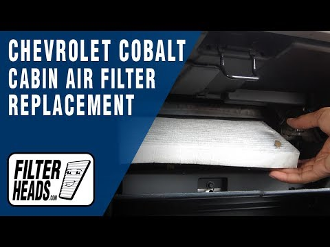 how to replace cabin air filter chevrolet cobalt youtube. Black Bedroom Furniture Sets. Home Design Ideas