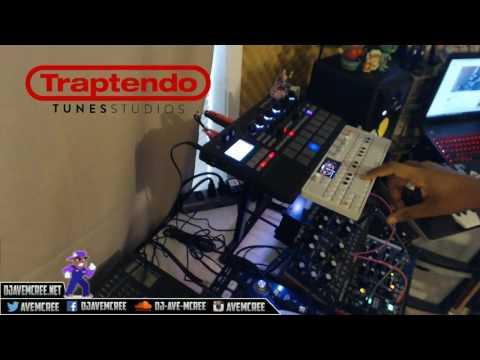 making beats on hardware