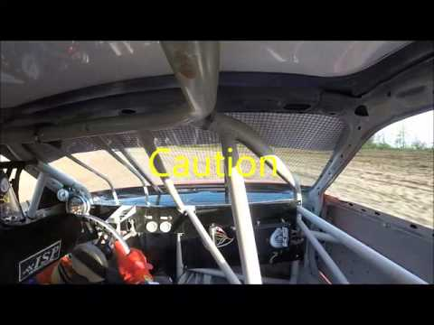 Montpelier Motor Speedway 5/7/16 FWD Compacts Heat #1 #21 Rodney Sutton