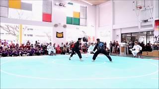 Harimau Minangkabau vs Seligi Tunggal Singapura - Jurong Central CSC Silat Challenge Cup 2017. 8204