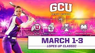 GCU Softball vs. Northern Colorado March 3, 2019