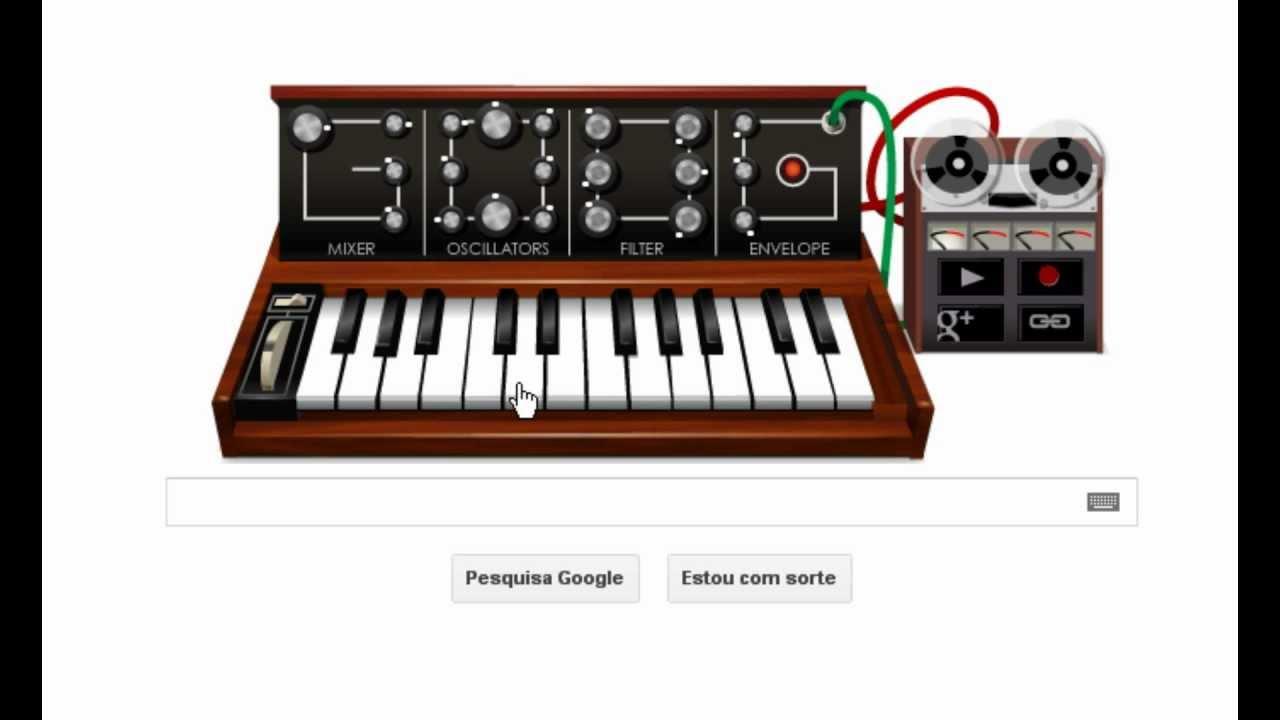 piano google holidays