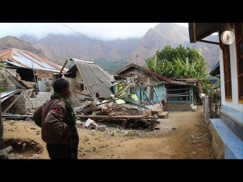Deadly quake strikes Indonesian tourist island of Lombok
